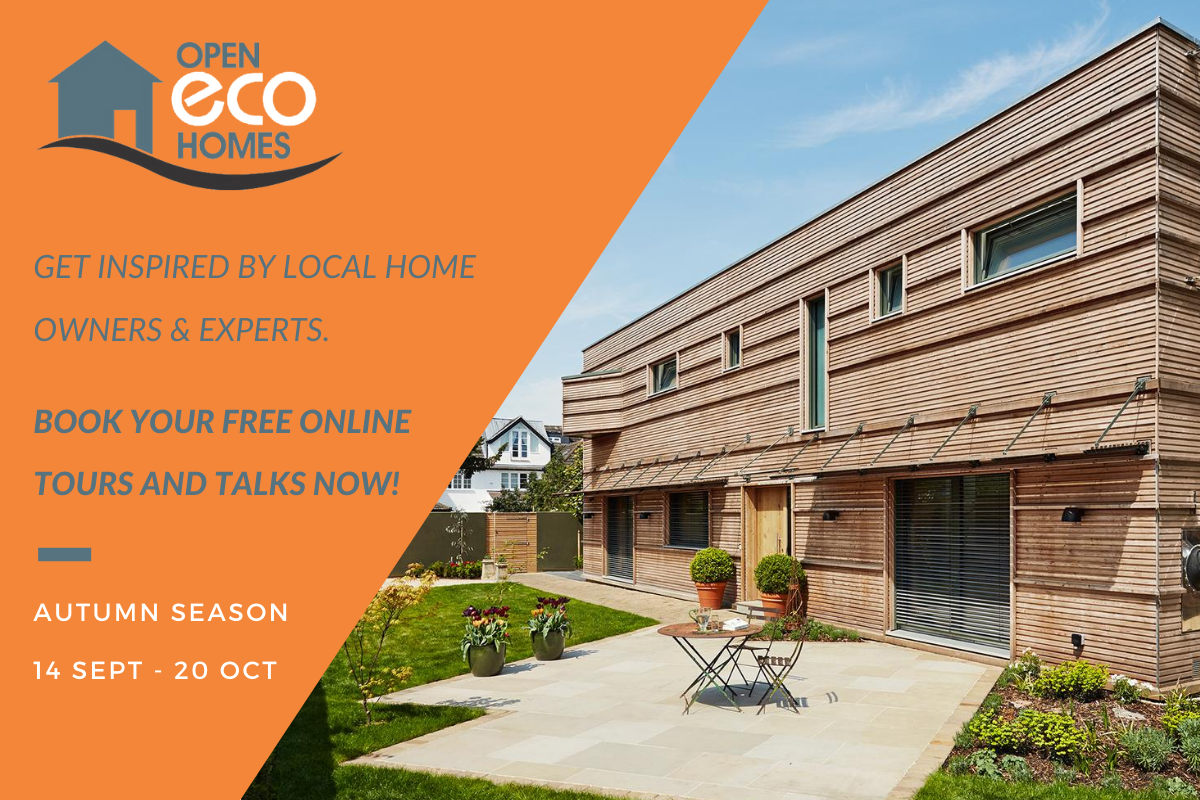 Open Eco Homes Autumn Season