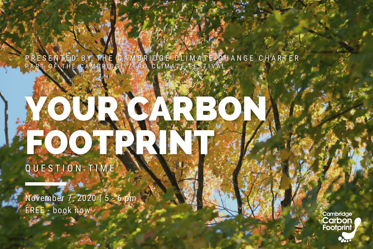 Your Carbon Footprint - Question Time