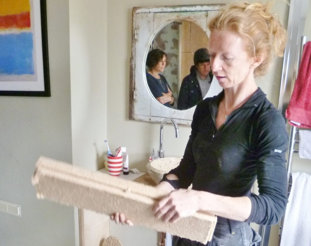 Open Eco Homes host demonstrates retrofit