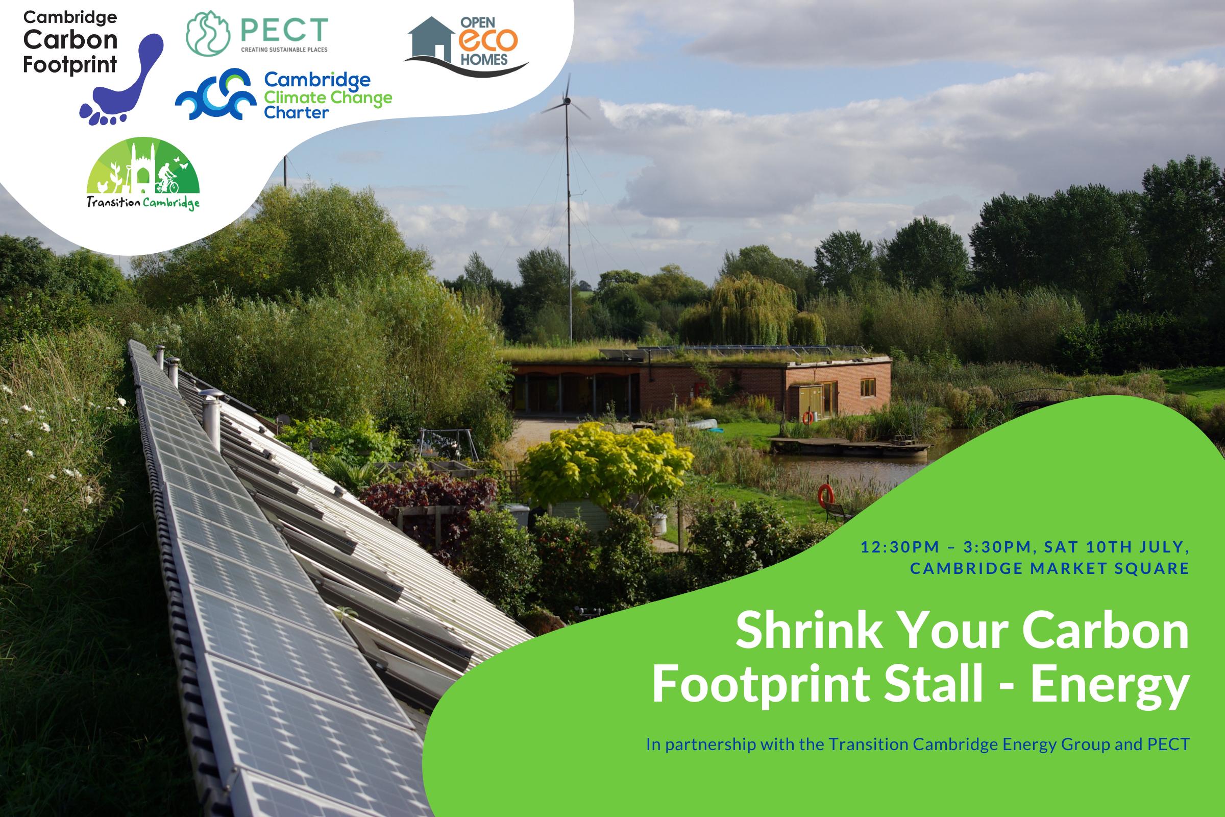 Shrink Your Footprint – Home Energy